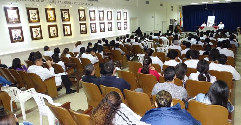 Auditorio durante Jornada medica