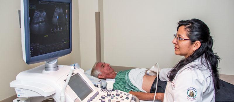 Geriatra del Hospital Luis Vernaza