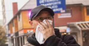 La mascarilla tipo N95 está elaborada con 7 capas de protección que evitan el contacto con la ceniza y protegen la mucosa nasal